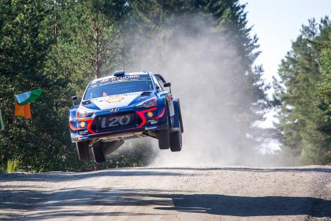 Hyundai Motorsport behåller ledningen i WRC