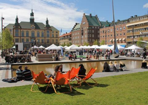 Eskilstuna Tourist Information öppnar på Fristadstorget