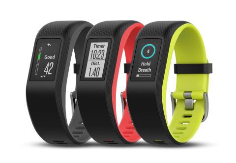 Garmin® presenterar aktivitetsmätaren vívosport med inbyggd GPS