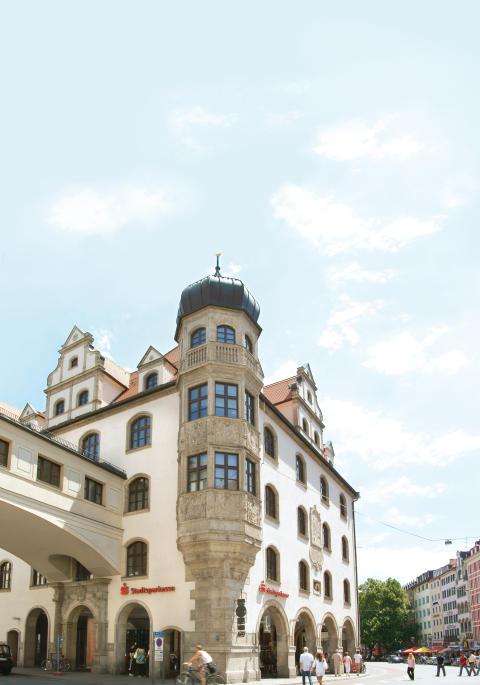 Hauptstelle der Stadtsparkasse München im Tal