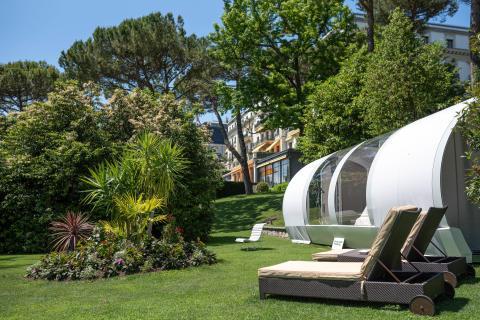 Pop-up Hotel Lausanne außen