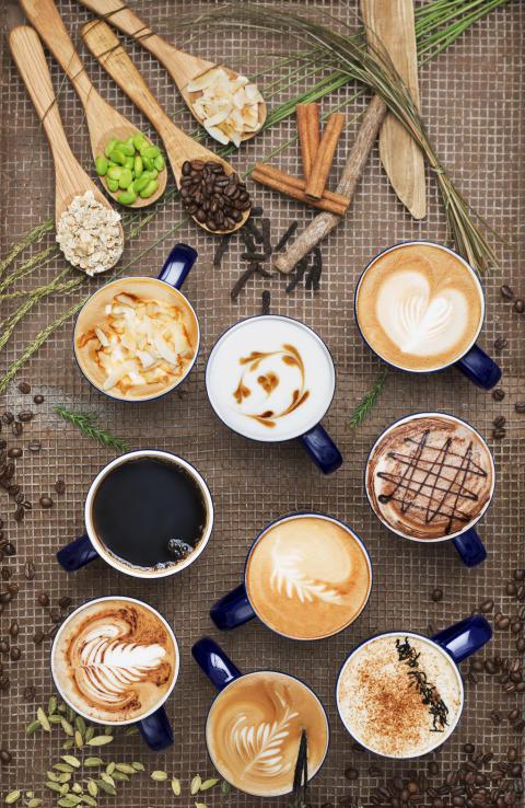 100 skäl att ta en kaffe. According to Wayne´s Coffee