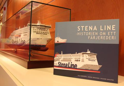 Stena Line lanserar jubileumsbok på Bok- och Biblioteksmässan