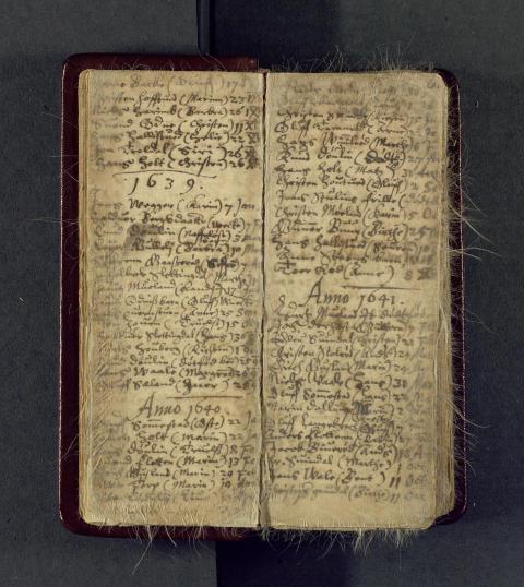 Andebu kirkebok 1623-1738