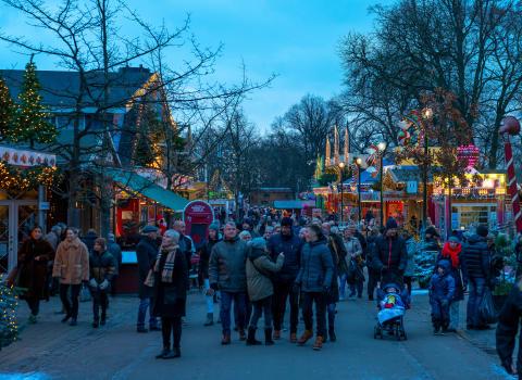 Bakkens store jule-debut - se billederne