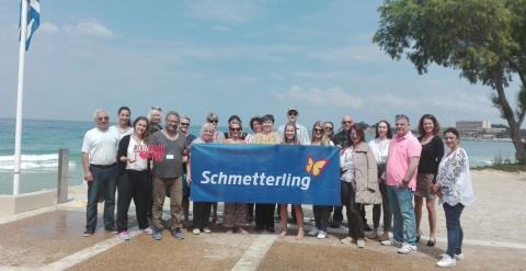 Schmetterling International gemeinsam mit Mouzenidis Travel in Griechenland