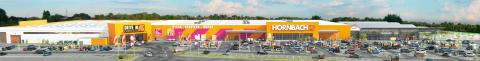 Snart öppnar Hornbach i Helsingborg − Femte varuhuset på plats lagom till hemmafixarnas semesterledighet