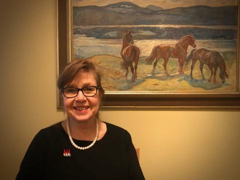 Marie Simonsson är Torsta's nya ordförande
