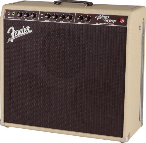 FENDER® CELEBRATES 20 YEARS OF GREAT TONE WITH THE RELEASE OF THE VIBRO-KING® 20th ANNIVERSARY EDITION AMP