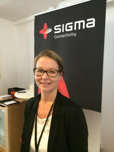 Cecilia Olsson, HR-chef Sigma Connectivitiy