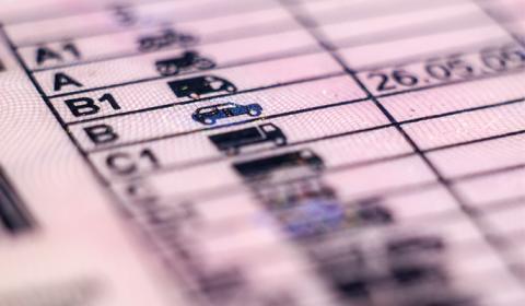 Hva slags førerkort kreves for å kjøre bobil?