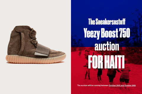 Sneakersnstuff for Haiti