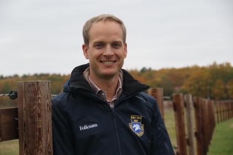 Henrik Ankarcrona förbundskapten i hoppning