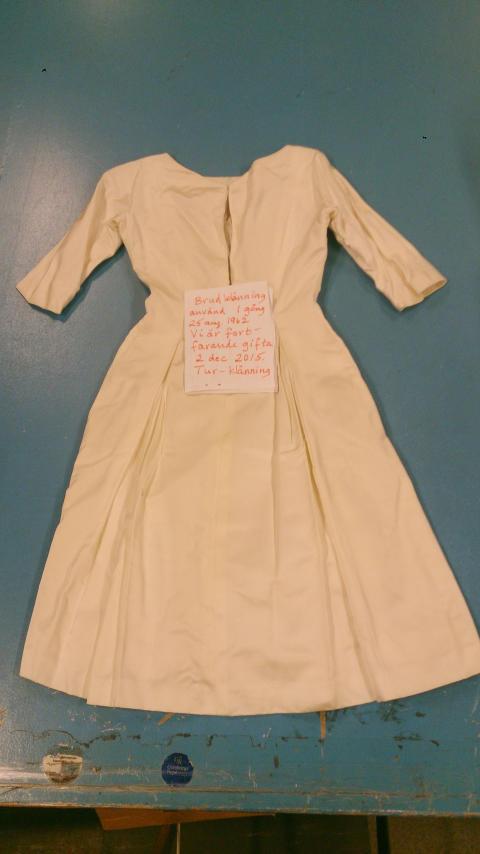 Brudklänning med historia
