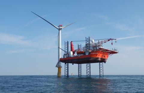 Nordsøen er blevet arbejdsplads for Eniig