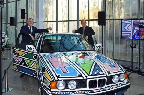 BMW Art Cars-Ausstellung zu Gast im Museum der bildenden Künste Leipzig
