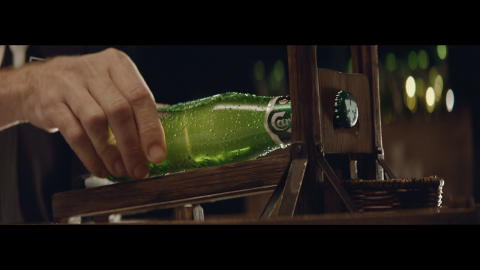 Carlsberg Bottle Opener Guillotine