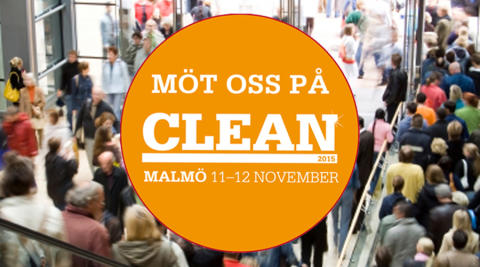Snacka med oss på CLEAN 2015, Malmö!