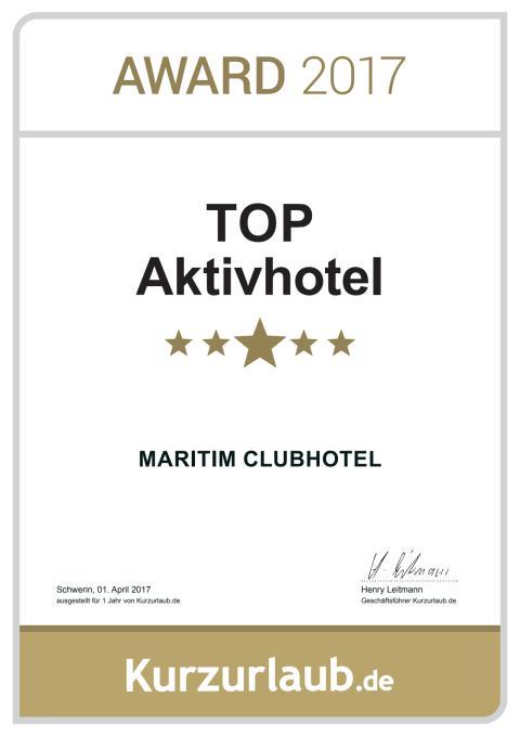 TOP Aktiv Hotel: Maritim ClubHotel Timmendorfer Strand