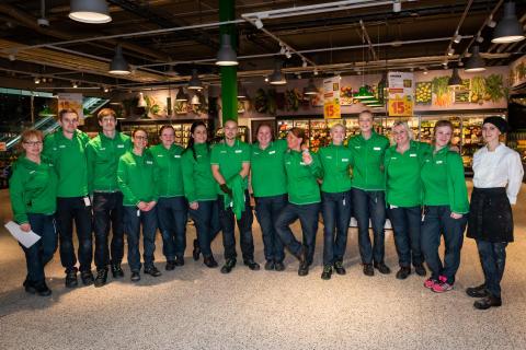 Lyckad invigning av Coop Kongahälla med arbetslag från Storesupport