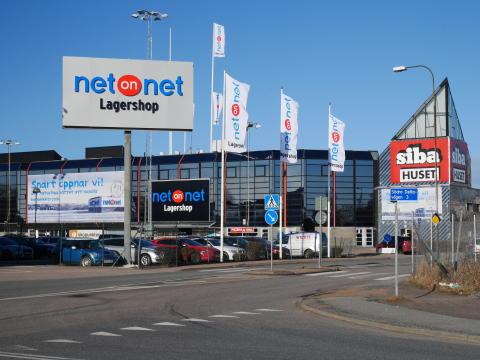 NetOnNet Lagershop i Backaplan