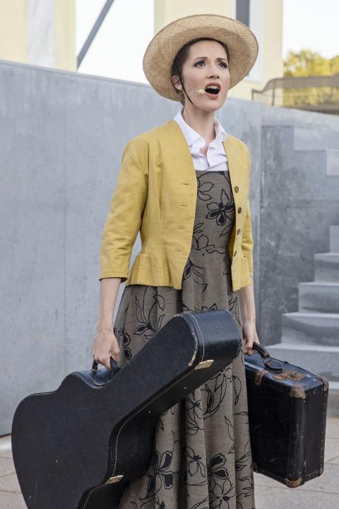 The Sound of Music 2. 2: Isabel Schwartzbach. Foto: Esben Salling
