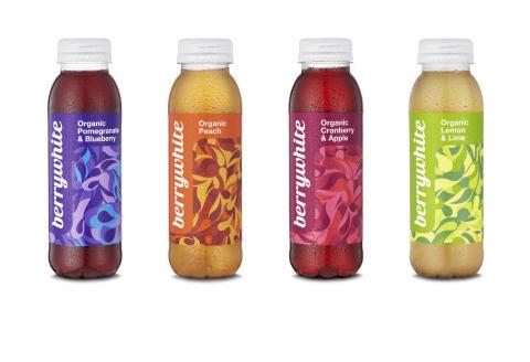 ScandChoco lanserar Berrywhite, ekologiska fruktdrycker med vitt te.