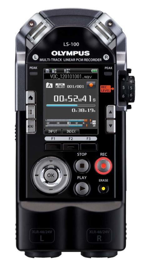 Olympus LS-100 multitrack inspelning med professionell ljudkvalitet i fickformat