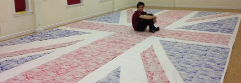 Bedales student honours work of Winston Churchill through ambitious Art project