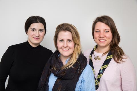 Här är Sveriges främsta unga ledare: Hannah, Mariam och Emma  – Belönas med Kompassrosen för modigt, omtänksamt och handlingskraftigt ledarskap