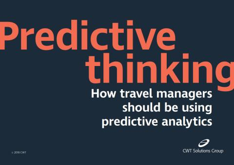 CWT Solutions Group adds Predictive Analytics capabilities, revealing new savings opportunities
