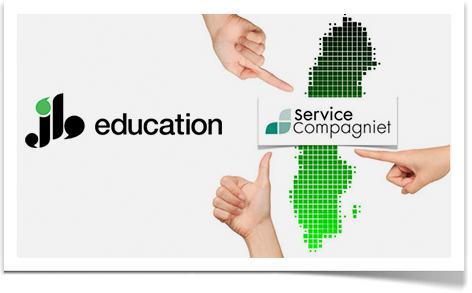 JB Education har tecknat rikstäckande samarbetsavtal med ServiceCompagniet