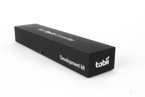 Tobii EyeX Controller for developers - eye tracking dev kit box