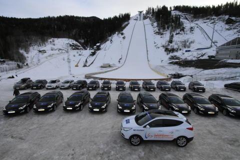 Nye biler til VM i Vikersund