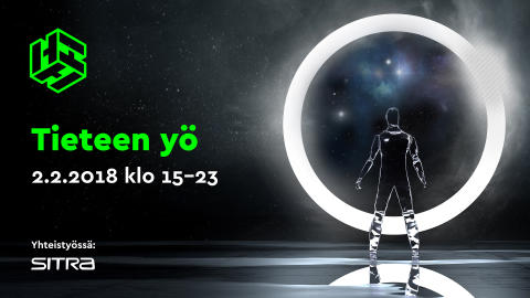 Heurekan Tieteen yö vie mahdollisiin tulevaisuuksiin 2.2. klo 15–23