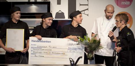 Nyköpings revbensspjäll vann Smarta Kocken 2010
