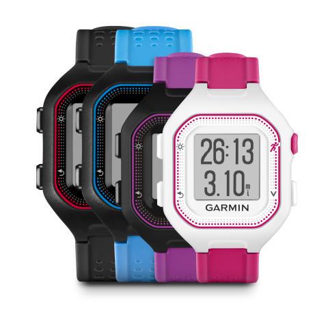 Garmin® Forerunner® 25 med GPS och smarta aviseringar