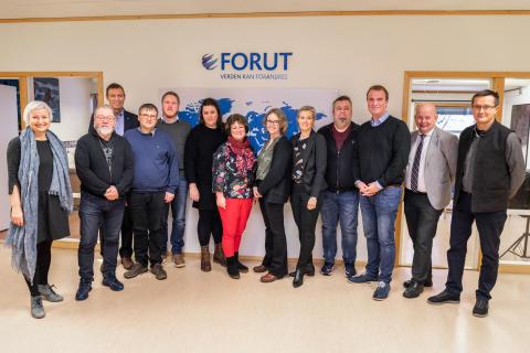 Formannskapet i Gjøvik på besøk hos FORUT