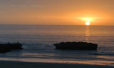 Atlantic sunset Morocco_Source NOSADE