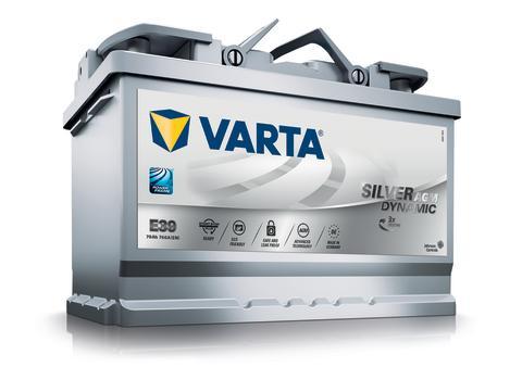 Nya VARTA Silver Dynamic AGM