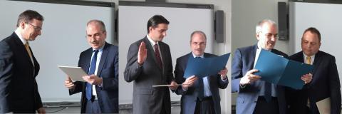 Drei neue Professoren stärken die akademische Lehre und Forschung im Fachbereich Ingenieur- und Naturwissenschaften (INW)