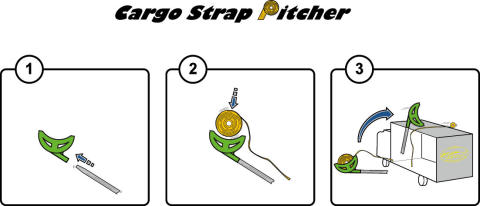 Cargo Strap Pitcher - instruktion