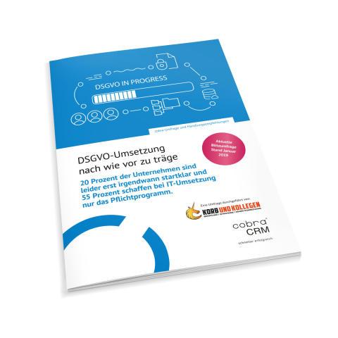 DSGVO-Umsetzung nach wie vor zu träge