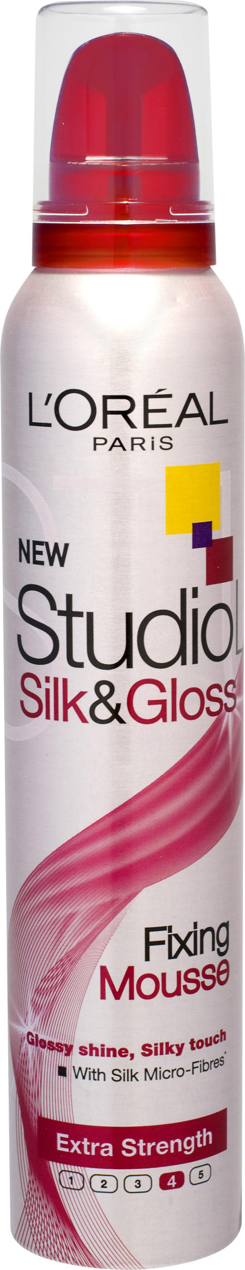 Studio Line Silk & Gloss Fixing Mousse