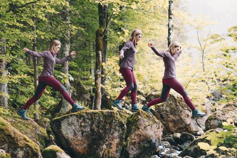 Neue Maier Sports Trekking-Tights: Funktion trifft auf Lifestyle