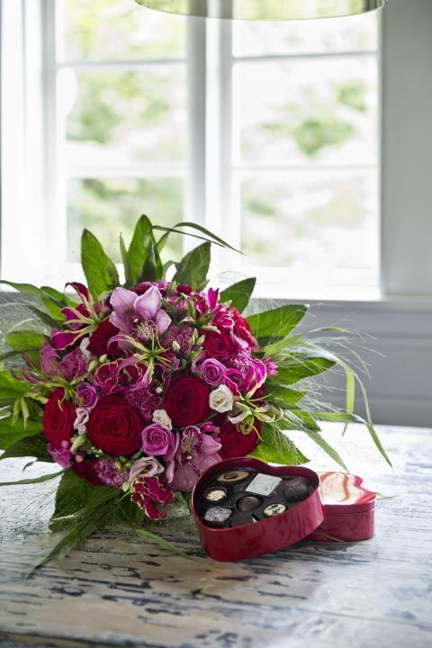 Blomster og andre hilsner på abonnement