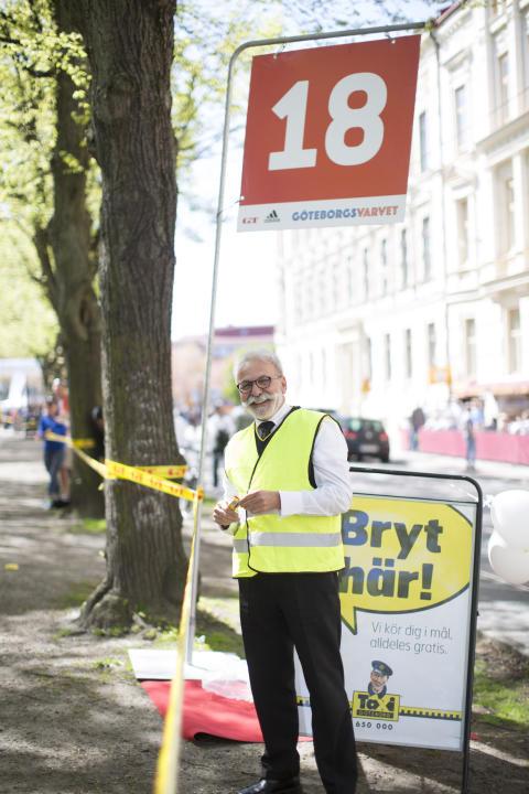 Taxi Göteborg ser till att alla kommer  i mål under GöteborgsVarvet