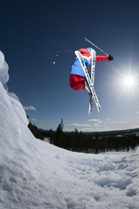 Snowpark i Idre Fjäll