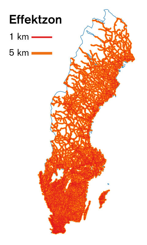 Effektzoner i Sverige