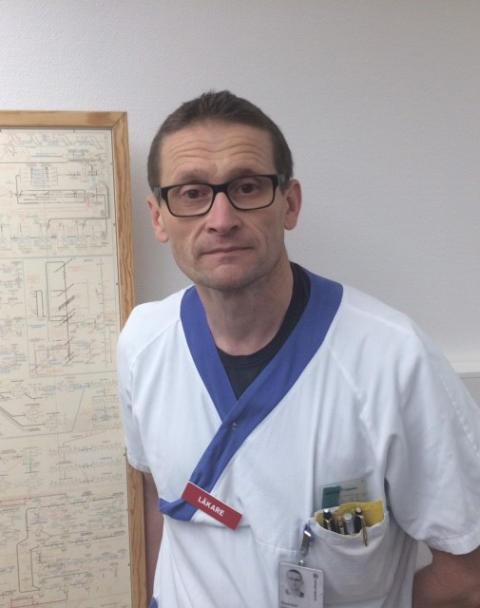 Gunnar Liminga, barnläkare (ST-läkare barnmedicin), Akademiska barnsjukhuset